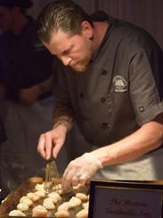 Chris Bellino, executive chef at the Historic Smithville