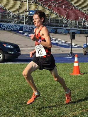 Zach Stewart of Brighton, who was 28th in last year's state meet, won the first invitational of his career Saturday at Kensington Metropark.