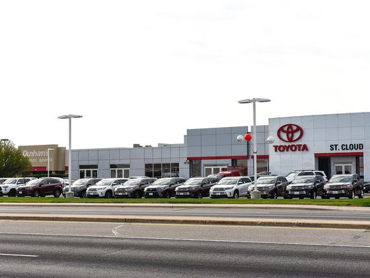 St. Cloud Toyota has expressed interest in expanding