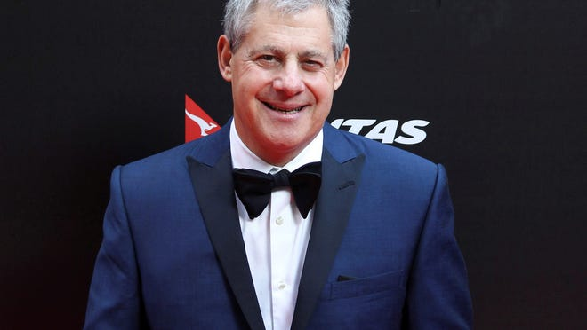 """Cameron Mackintosh, producer of the stage production of """"Les Miserables"""" in Sydney, Australia, appeared for the premiere of the film version in 2012. """"Les Miserables"""" is just one of many London theater productions shut down until 2021 because of the coronavirus pandemic."""