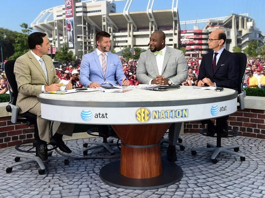 SEC Nation will broadcast from LSU on Saturday from Lot 106 on Campus.