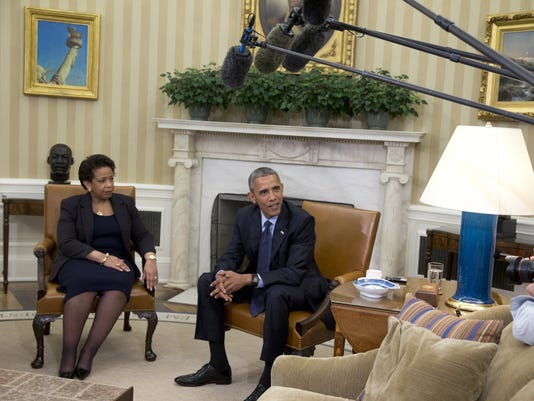 Barack Obama, Loretta Lynch