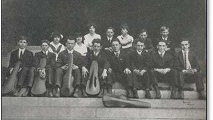 The 1915 White Plains High School Orchestra