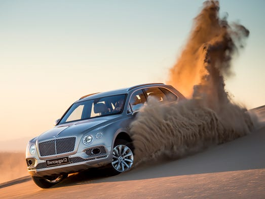 Bentley is about to start delivering the Bentayga SUV,