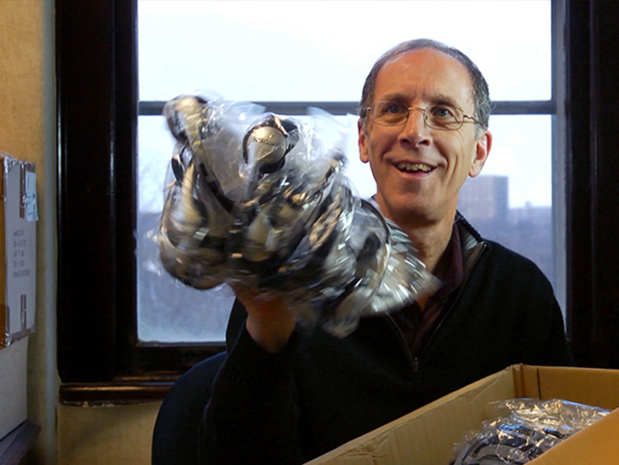 "Still of Dan Cohen from the documentary ""Alive Inside."""