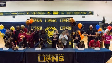 Six ACA athletes sign to play college sports