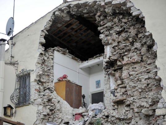 EPA ITALY EARTHQUAKE DIS EARTHQUAKE ITA