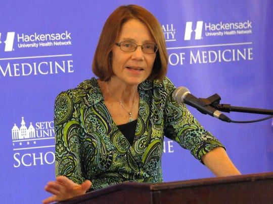 Bonita Stanton, founding dean of the Seton Hall-Hackensack Meridian School of Medicine