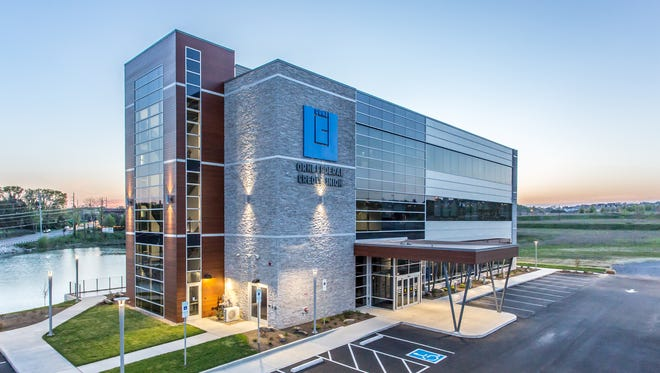 The new ORNL Federal Credit Union Facility is located at 2077 Town Center Boulevard.