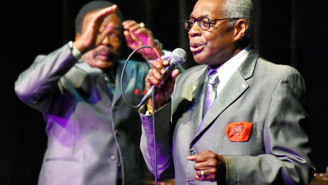 The Marcels provided the oldies for the FOP Lodge 128-sponsored concert at Novi High School.