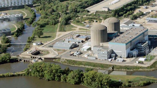 Xcel's Prairie Island Nuclear Power plant near Red Wing.