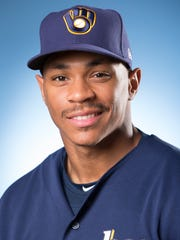 Brewers prospect Corey Ray.