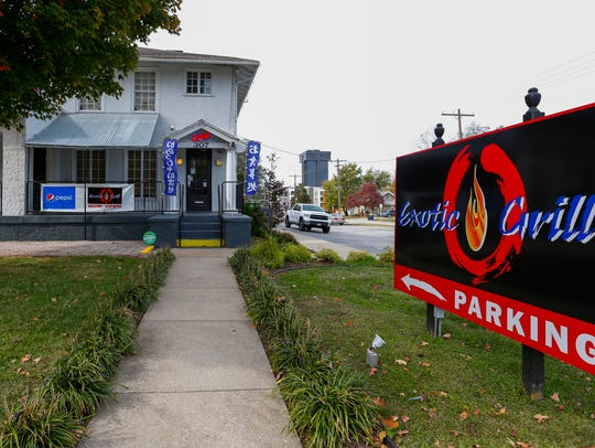 The Exotic Grill at 307 S. National Ave. opened Oct.