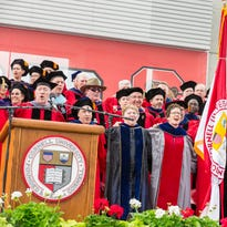 The 148th Cornell University Commencement ceremony took place Sunday at Schoellkopf Field.