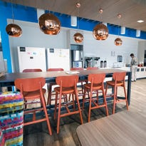 It's not quite Google, but this new York County workplace provides amenities to inspire