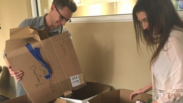 Ventura Investment Co. held its third annual food drive, collecting 635 pounds.