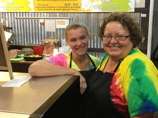 Gracie DeBrock, right, owns Bloomfield's Deli in North Fort Myers. Kimberly Stevens works at the deli.