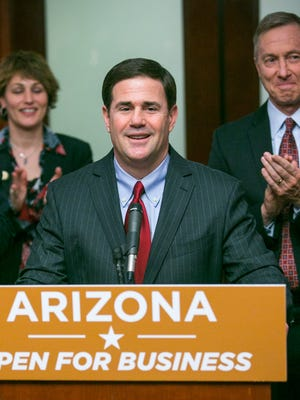 Arizona did have a notable business deal in 2015. On Feb. 2, Gov. Doug Ducey announced Apple Inc. would open a $2 billion command center in Mesa.