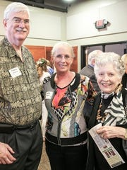 Dr. Flavius Killebrew, Kathy Killebrew, Gloria Hicks