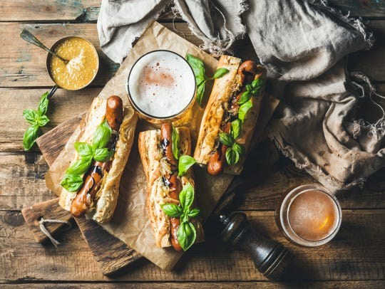 Brats are satisfying whether you're serving them fancy