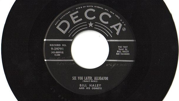 A Bill Haley and the Comets 45.