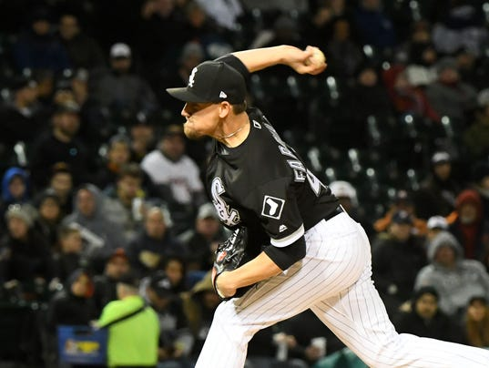 USP MLB: HOUSTON ASTROS AT CHICAGO WHITE SOX S BBA CHW HOU USA IL