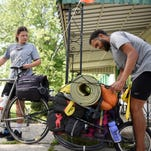 Couple finds kindness key in cross-country bike ride
