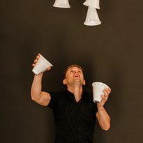 Juggler Niels Duinker aims to set four Guinness records during a visit to Gatlinburg.
