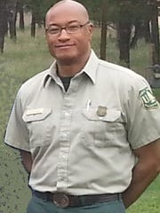 U.S. Forest Service Customer Service Representative George Garnett