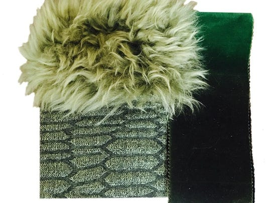 Shades of green were first seen on the runways of Milan. From Pantone color of the year Greenery to deep forest greens, these hues can be seen in textiles, accessories and furniture.
