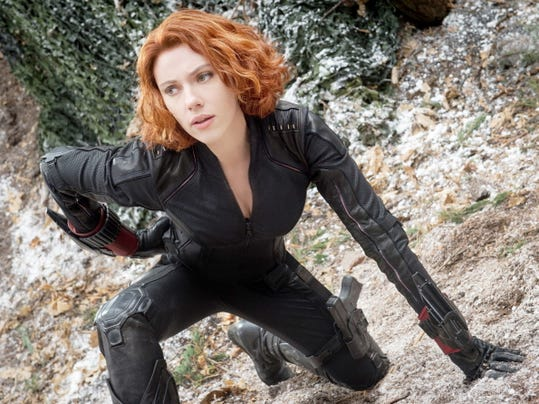 "Scarlett Johansson as Black Widow/Natasha Romanoff ""Avengers: Age Of Ultron."" Marvel, the comic book movie powerhouse, has enjoyed an unprecedented run of success — releasing 10 films that have brought in more than 7 billion."