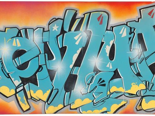 "Andrew (Zephyr) Witten, ""Untitled,"" 1984, acrylic on"