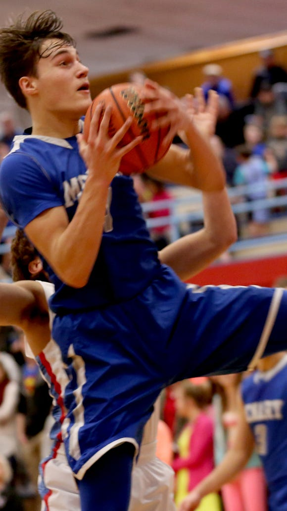 McNary's Harry Cavell (4) has been selected to play in the Northwest Shootout.