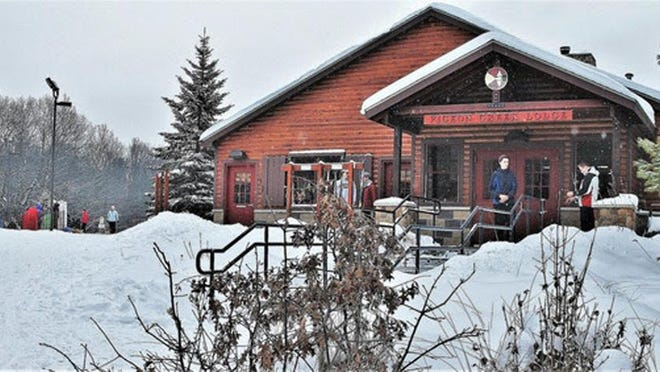 Pigeon Creek Lodge will not be open for warming or concessions this year due to the COVID-19 pandemic. Restrooms and ski and snowshoe rentals at the lodge will be open, but the building's capacity will be limited.