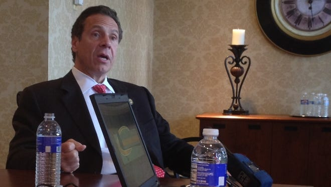 Gov. Andrew Cuomo meets with the Editorial Board on July 16.
