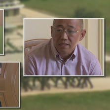 North Korea gave foreign media access on Monday to three detained Americans: Kenneth Bae (right), Jeffrey Fowle and Mathew Miller.