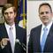 Democratic Attorney General Andy Beshear, left, and Republican Gov. Matt Bevin