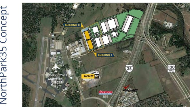 The Georgetown City Council has approved a $10.5 million incentive package for NorthPark35, the city's first master-planned business park