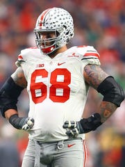 Ohio State offensive lineman Taylor Decker was the