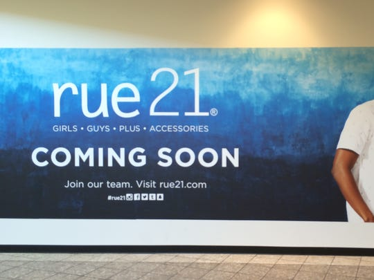 Rue 21 is taking more than half of the former Gap space in the Fox River Mall.