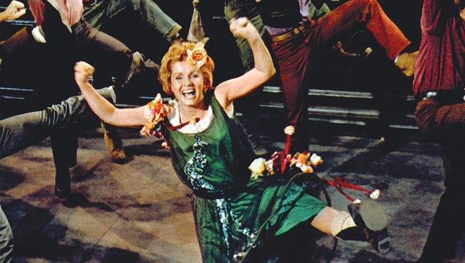 Debbie Reynolds in 'The Unsinkable Molly Brown.'