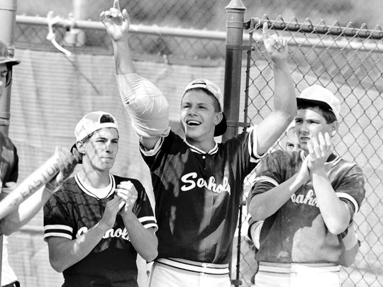 Seaholm players marched to the 1988 Class A baseball state championship with an exhilarating seven-game state tournament run.
