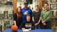 Waynesboro's Cameron Keck signed his National Letter of Intent to play basketball at Juniata College.