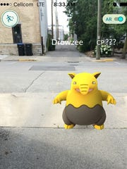 A number of people including, the Door County Advocate, found a Pokemon in the alley next to the Nautical Inn, 234 Kentucky St., Sturgeon Bay. The Advocate is listed in the Pokemon Go app as a Pokestop.