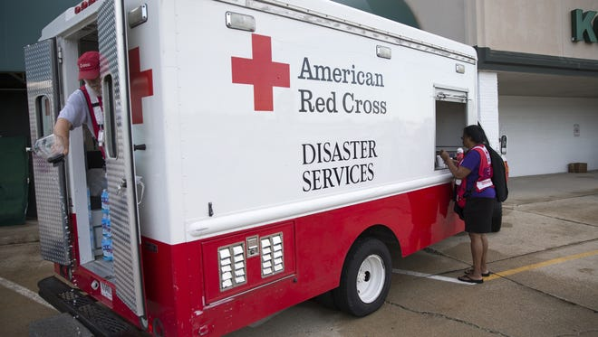 Whether it's handing out cleaning supplies or hot meals, the Red Cross has been helping flood victims through the recovery process.