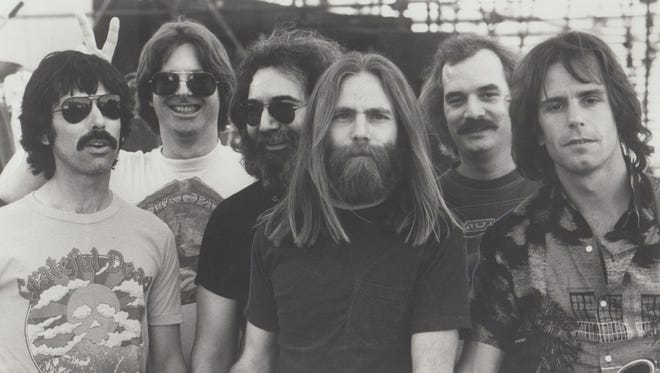 The Grateful Dead, pictured in 1981, played 22 shows in Indiana from 1969 to 1995.