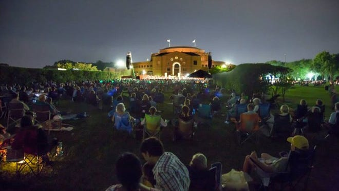 Broadway Under the Stars by the Montgomery Symphony Orchestra.