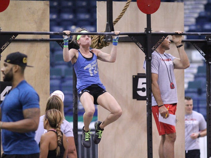 Athletes compete in the second annual Fit Nation Thunderdome