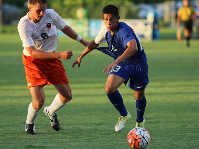 Scenes from FGCU's 3-2 victory over Princeton at the