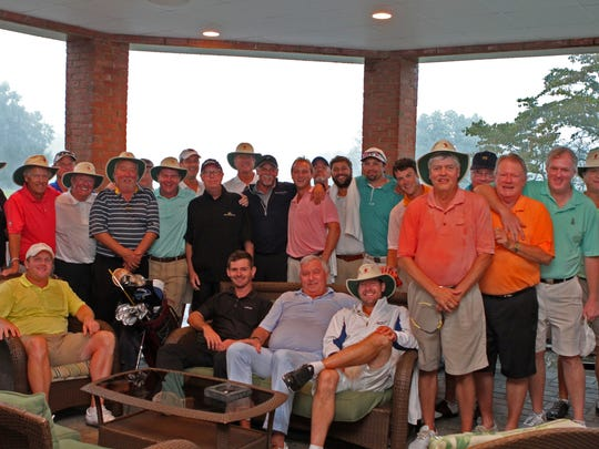Two teams compete in the 15th annual Jumper Cup at Clarksville Country Club. A team from Georgia comes to challenge a Tennessee team each year, have some fun and raise money for some good causes.